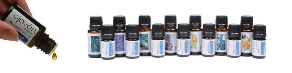 Pure Unadulterated essential oils by Ojavan | sold at TimeLess Medical Spa in Ogden Utah