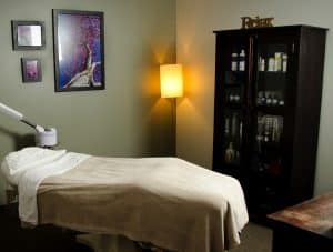 facial room at TimeLess Medical Spa in Ogden, Utah