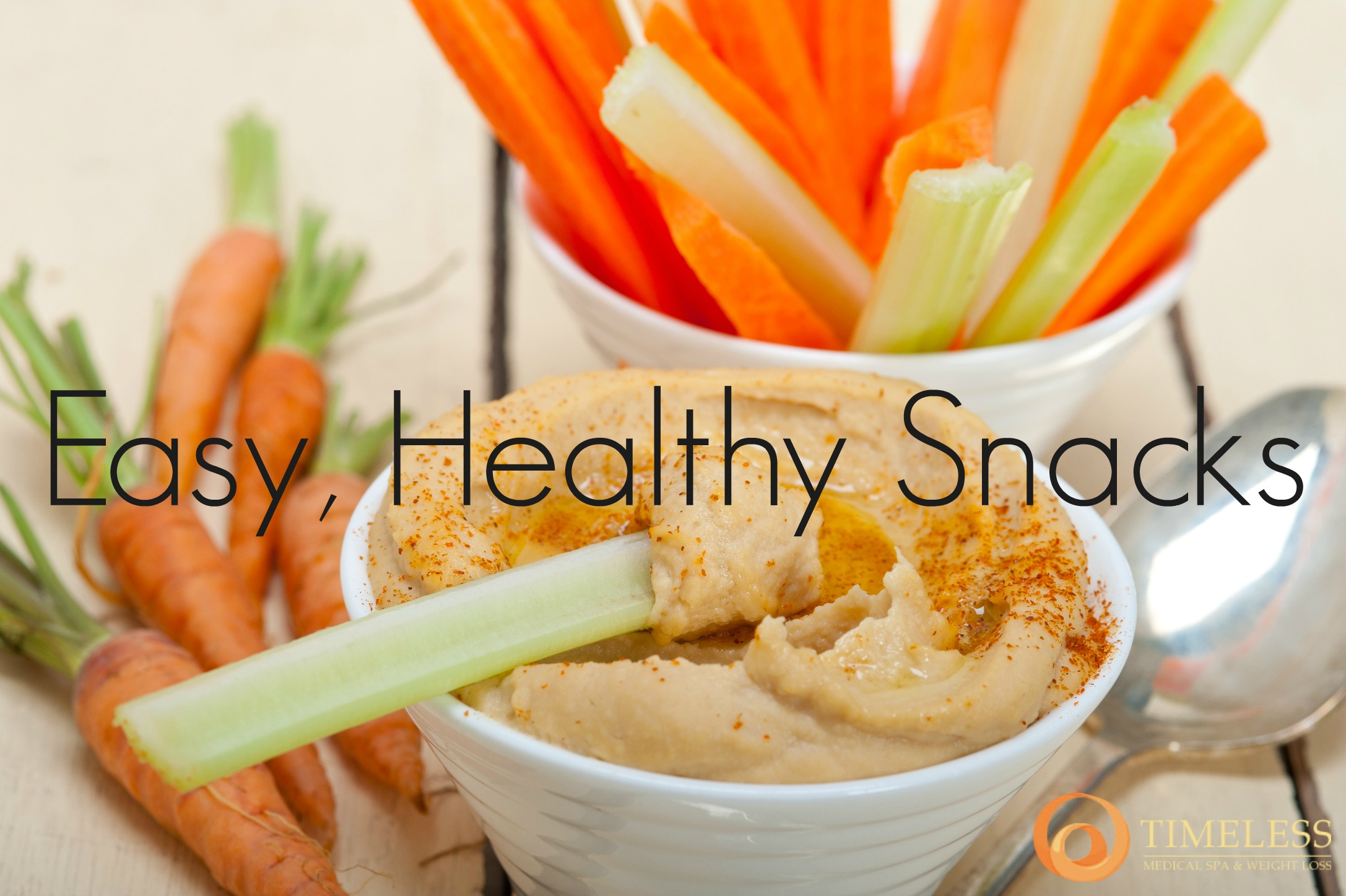 Easy, Healthy Snack Ideas from TimeLess Weight Loss Blog