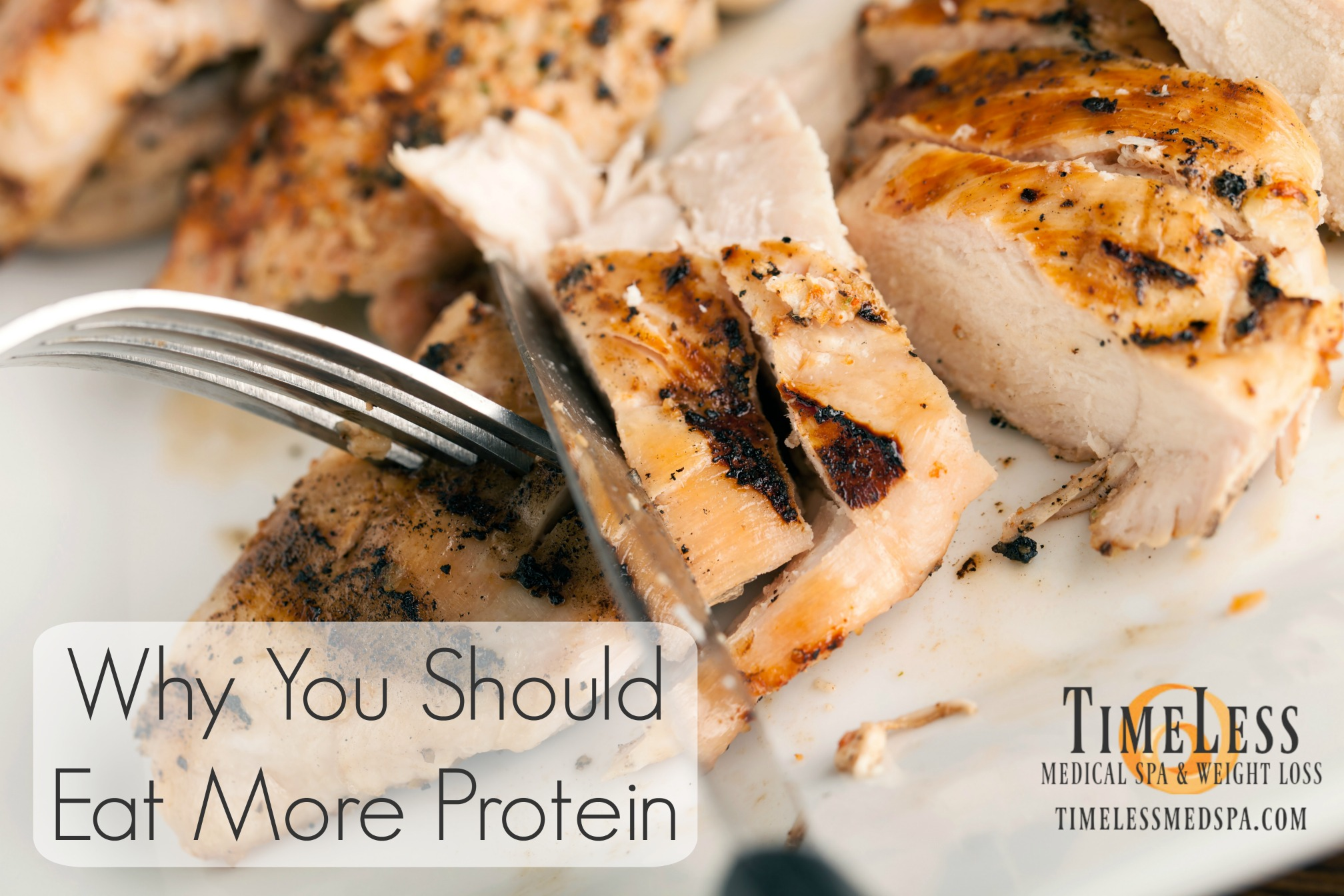 Why You Should Eat More Protein // Healthy diet tips for weight loss. How protein supports the body and helps weight loss. || TimeLess Medical Weight Loss Blog