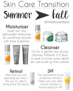 summer to fall skin care routine and tips for the best skin care routine // Image Skin Care // Skin Medica // TimeLess Medical Spa in Ogden Utah