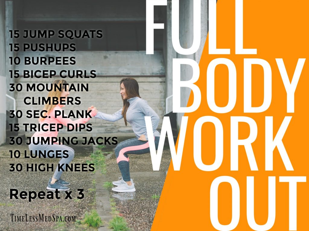 TimeLess Medical Weight Loss Full Body Workout // Ogden, Utah