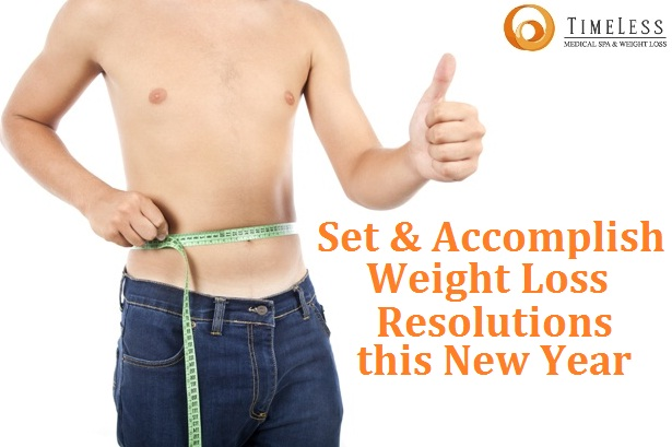 Set and Accomplish Weight Loss Resolutions this New Year
