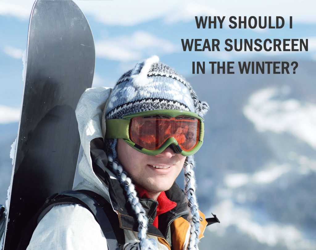 Why should I wear sunscreen in the winter?   Sun protection all year, all seasons, all the time   TimeLess Medical Spa