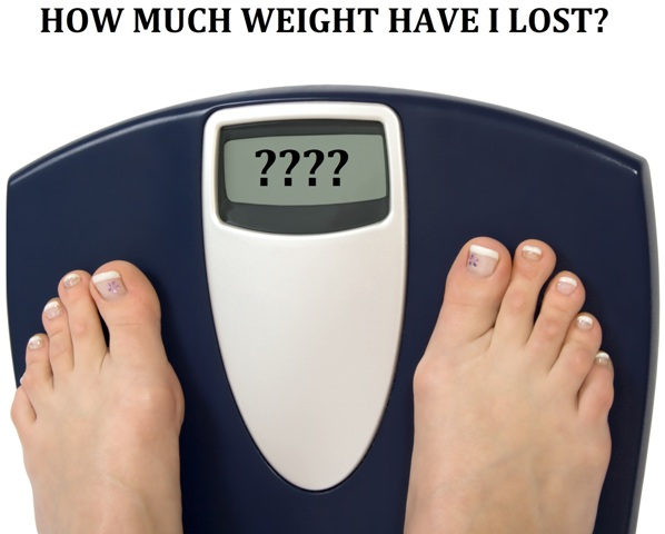How Much Weight Have I Lost?