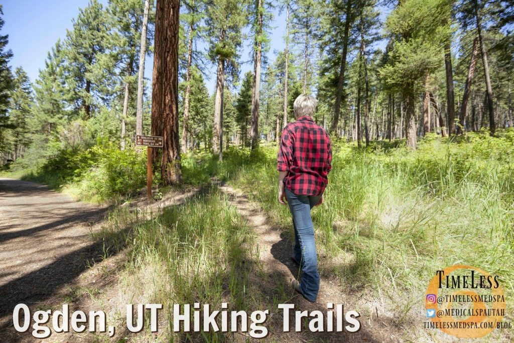 Ogden, Utah hiking trails - the best trails to hike in Ogden, Utah // TimeLess Medical Weight Loss Blog