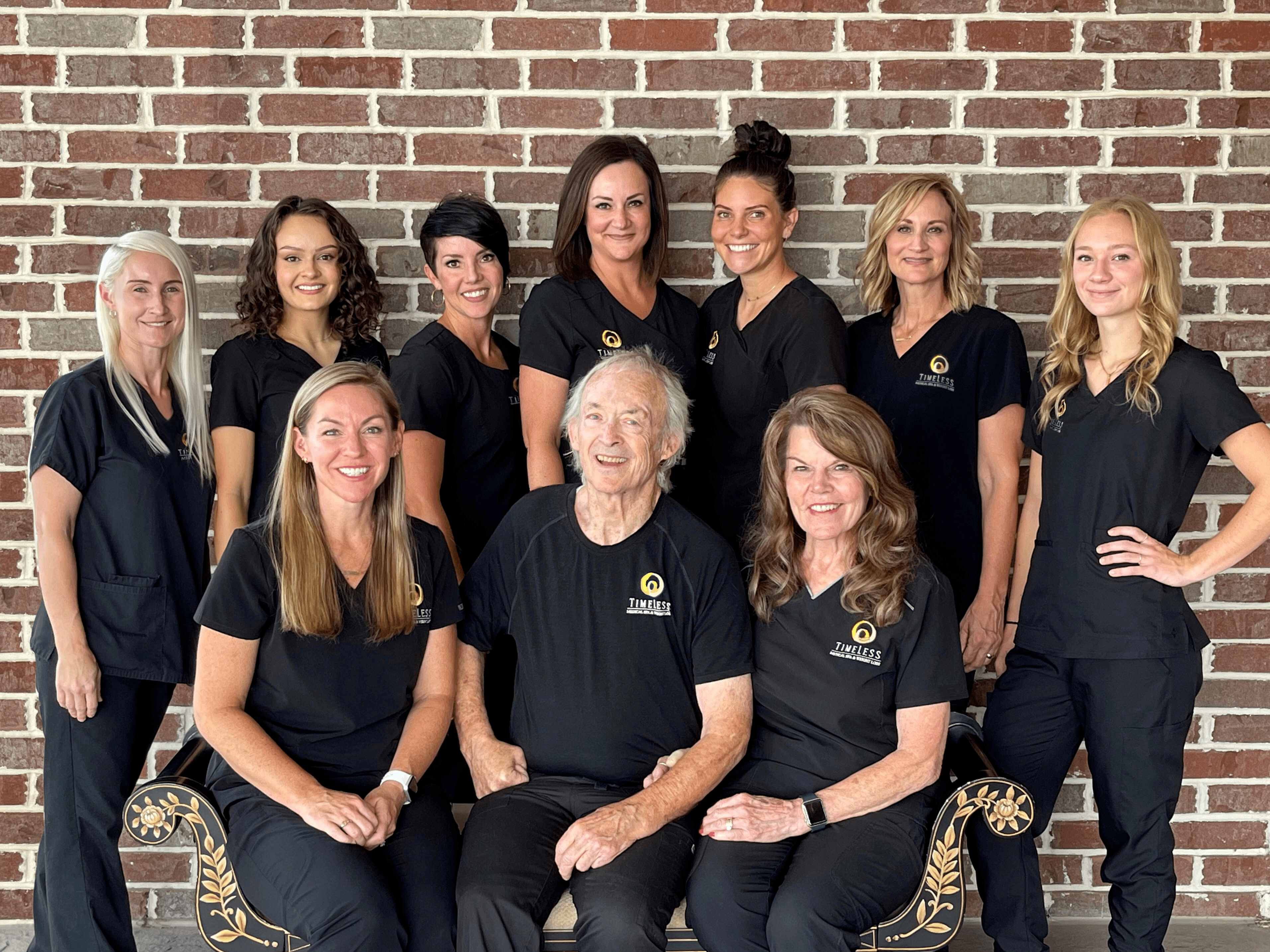 The staff of TimeLess Medical Spa and Weight Loss Clinic in Ogden, UT
