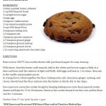 Healthy pump chocolate chip cookie recipe