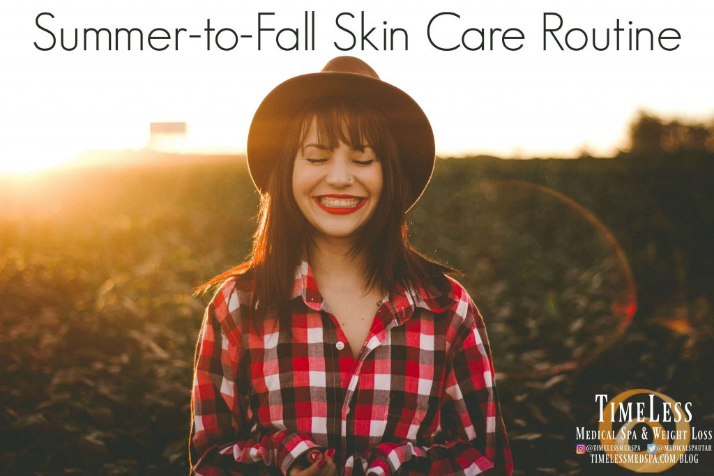 summer to fall skin care routine and tips for the best skin care routine // Image Skincare // Skin Medica // TimeLess Medical Spa Ogden Utah