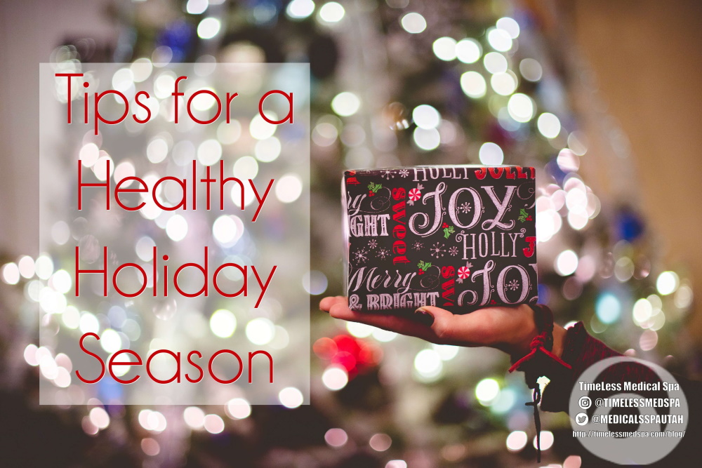 Tips for a Healthy Holiday Season | TimeLess Medical Weight Loss in South Ogden Utah | Self care, Weight Management and how to de-stress during the holidays