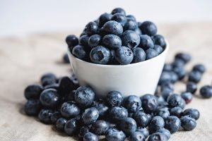 health benefit of blueberries // March is National Nutrition Month || Nutrition Facts and healthy substitutions for cooking. Blog Post by TimeLess Medical Spa and Weight Loss Clinic in Ogden, Utah