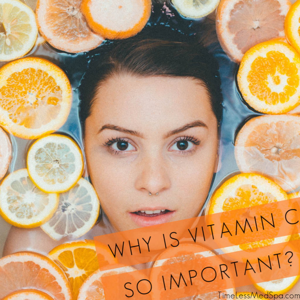 Whya is Vitamin C so important to your skin care routine?