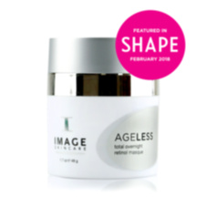 A bottle of Ageless Retinol Masque from Image Skincare