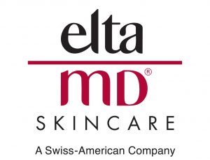 Elta MD Skincare logo, a Swiss-American company that makes skin health products