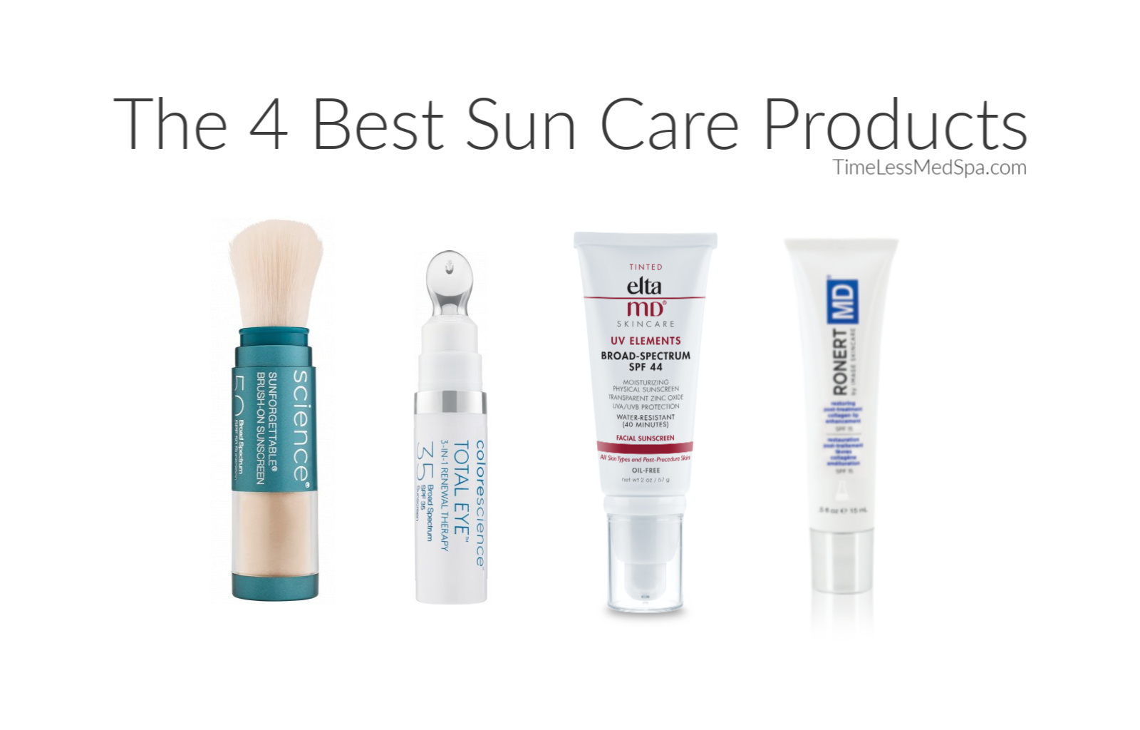 The 4 Best Sun Care Products