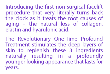 Introducing the first nonsurgical facelift procedure